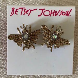 Betsey Johnson Cute bee earrings